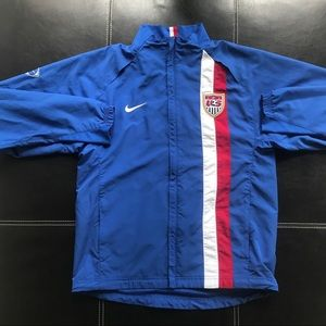 Nike US soccer jacket / zip up / sweatshirt